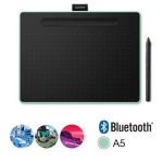 Графический планшет, Wacom, Intuos Medium Bluetooth (CTL-6100WLE-N), (Зелёный)