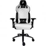 Игровое компьютерное кресло 1stPlayer DK2, White/Black