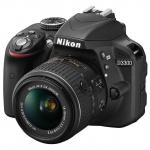 Фотоаппарат Nikon D3300, 18-55VRII Kit