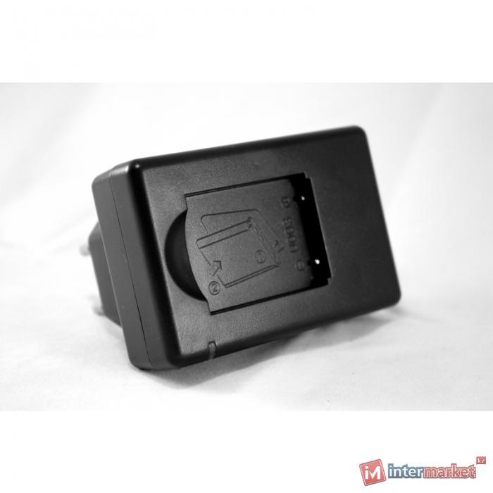 Сетевое зарядное устройство PowerPlant Olympus Li-40B, Li-42B, D-Li63, KLIC-7006 EN-EL10, NP-45 Slim
