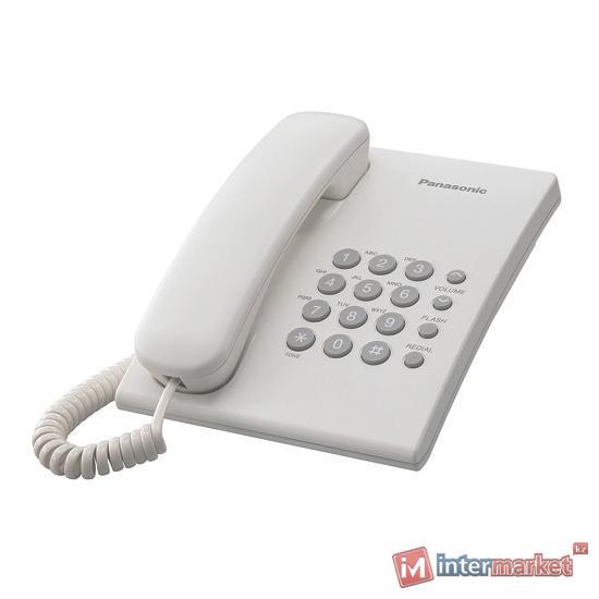 Проводной телефон PANASONIC KX-TS 2350CAW, белый